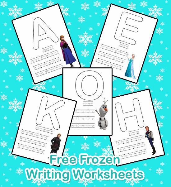 550 x 600 jpeg 113kB, Make I Share: Free Frozen Writing Worksheets