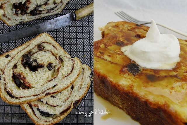 Curly Girl Kitchen Cinnamon Cardamom Raisin Swirl Bread
