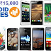 Top 5 Best selling Android Smart Phones below 15,000 (2014)
