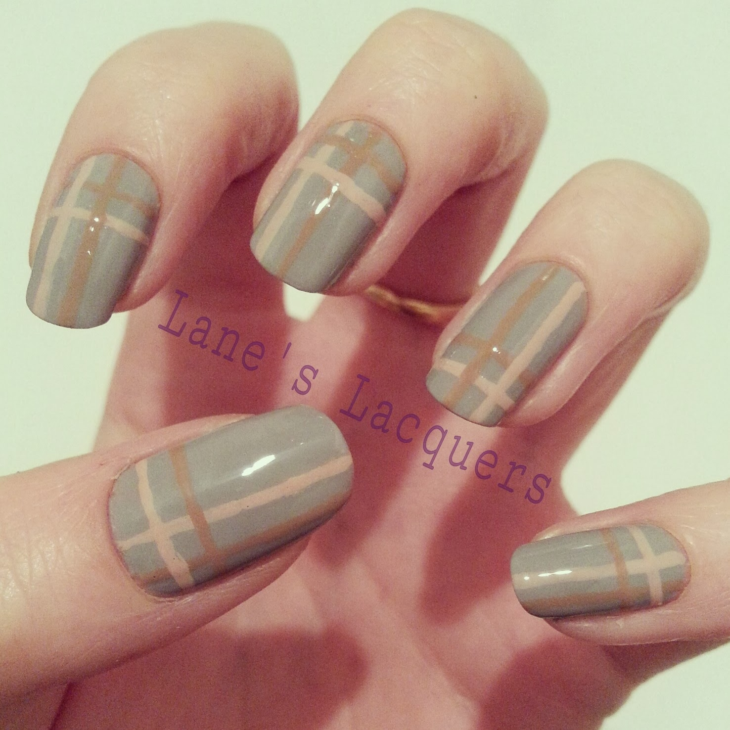february-TPC-brown-pink-grey-plaid-manicure