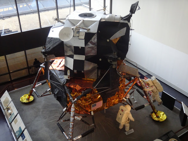 Apollo Lunar Module display Space and Air Museum in Washington DC, USA