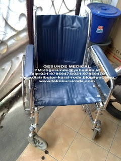 kursi roda murah longmax