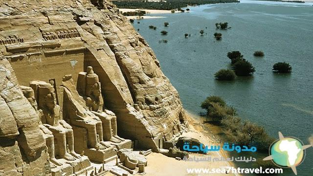 معبد أبو سمبل في مصر