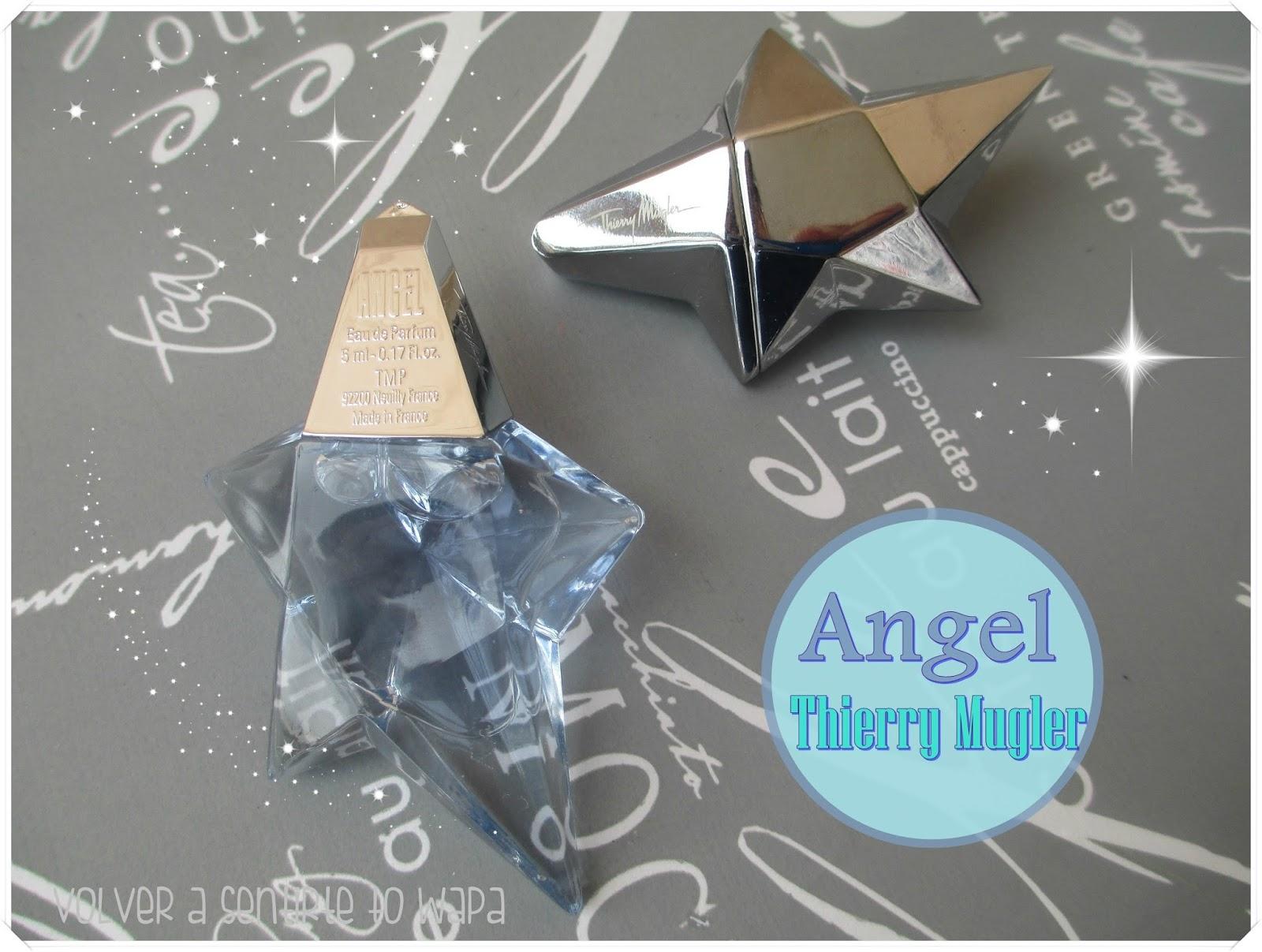 ANGEL de Thierry Mugler - Volver a Sentirte to Wapa