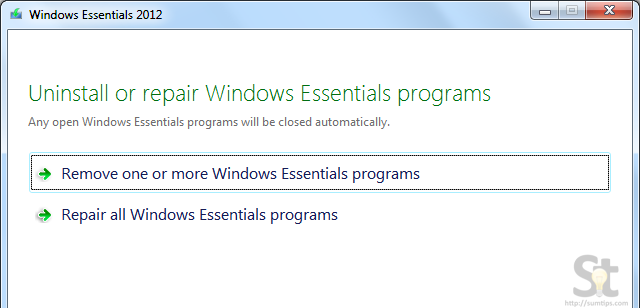 Windows Essential Uninstall