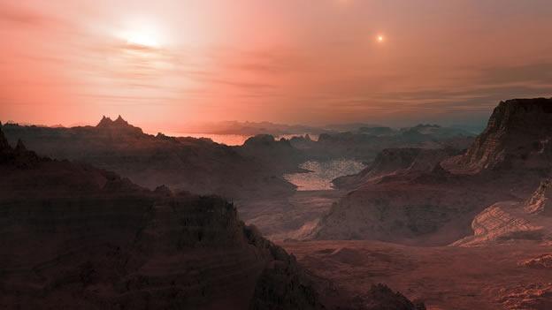 (CNN) — Si estás tratando de contar cuántos planetas podrían ser candidatos para albergar vida en nuestra galaxia, esto podría sorprenderte: los científicos dicen que puede haber miles de millones de ellos. Los astrónomos que trabajan con el instrumento HARPS en el Observatorio del Sur de Europa estiman que en nuestra galaxia hay miles de millones de planetas rocosos no más grandes que la Tierra orbitando estrellas enanas rojas, dentro de las zonas habitables de estas estrellas relativamente frías. Una zona habitable es el área en el sistema de estrellas donde puede existir agua en forma líquida en la superficie