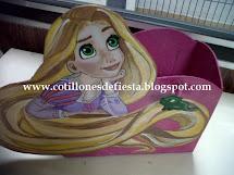 Cotillón de Rapunzel