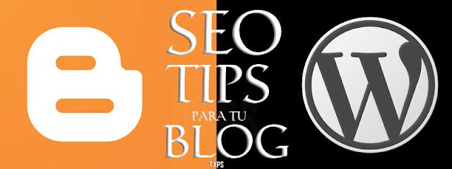 SEO Tips y consejos para el posicionamiento web de tu blog en Google