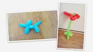 hoe maak je figuren met ballonnen