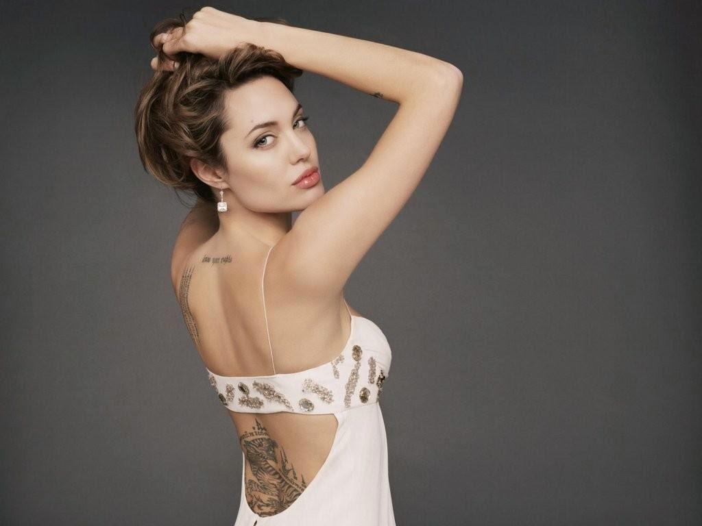 angelina jolie tattoos wanted