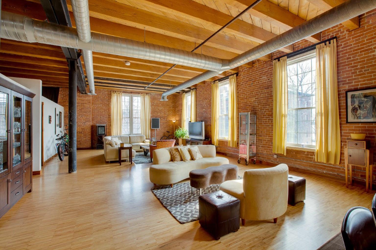loft, mieszkania w fakbrykach