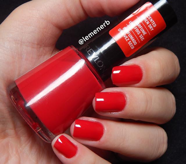 esmalte vermelho revlon