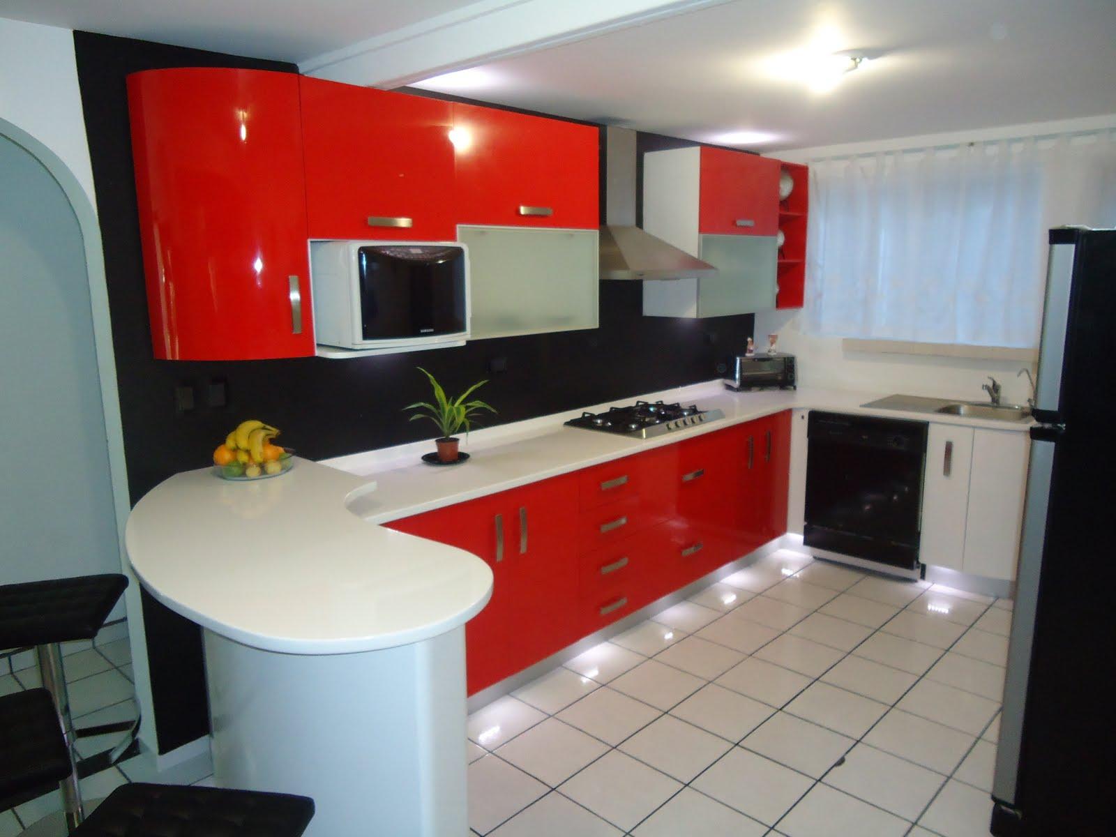 Heynez cocinas modernas diferentes colores de cocina for Diseno de cocinas contemporaneas