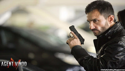 Agent Vinod: Fresh Hot HQ Wallpaper - featuring Saif Ali Khan