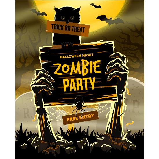 fiesta zombi