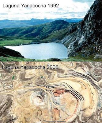 ¡No al proyecto minero Conga!
