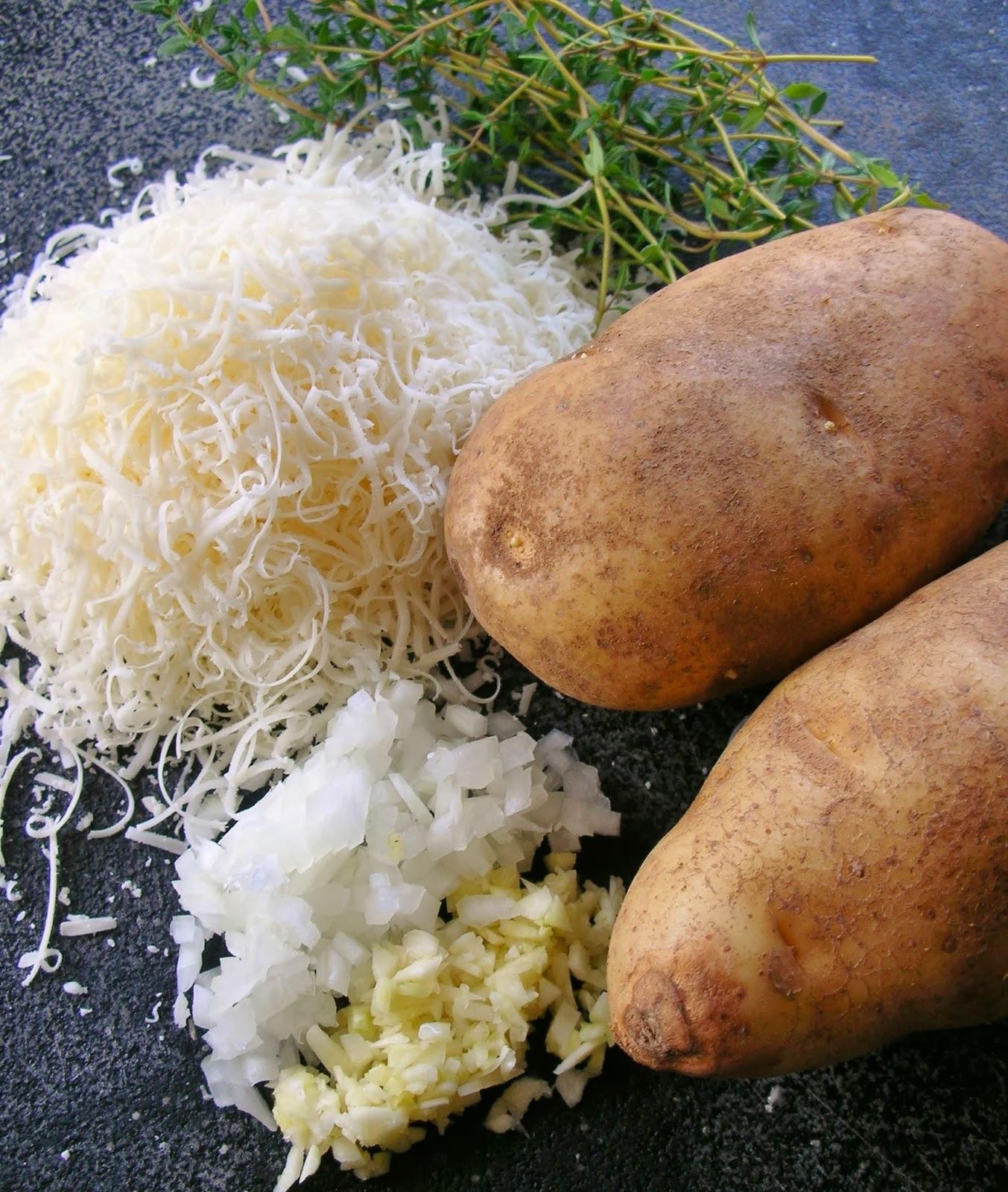 Basil: Parmesan Potato au Gratin