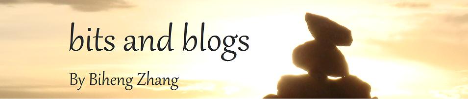 Biheng Zhang: bits and blogs...