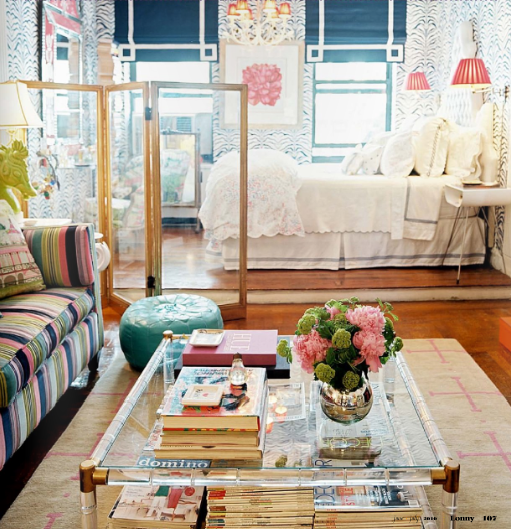 photo from chic cottage charm - Lucite Table