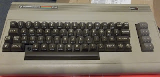 Commodore 64 cleaned up