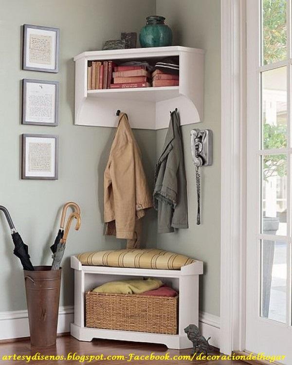 Esquineros para salas decoraci n del hogar dise o de - Ideas para recibidores ...