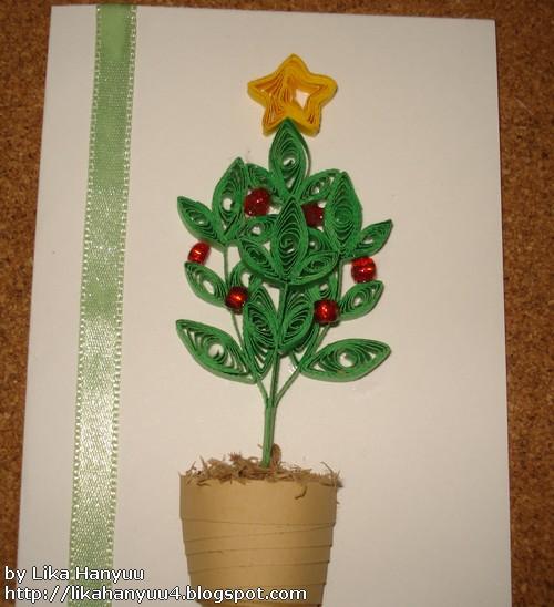 Aparador Antiguo Sevilla ~ Lika Hanyuu uff0d Artesanato Quilling [Vídeo Tutorial]Árvore de Natal Simples (Christmas Tree)