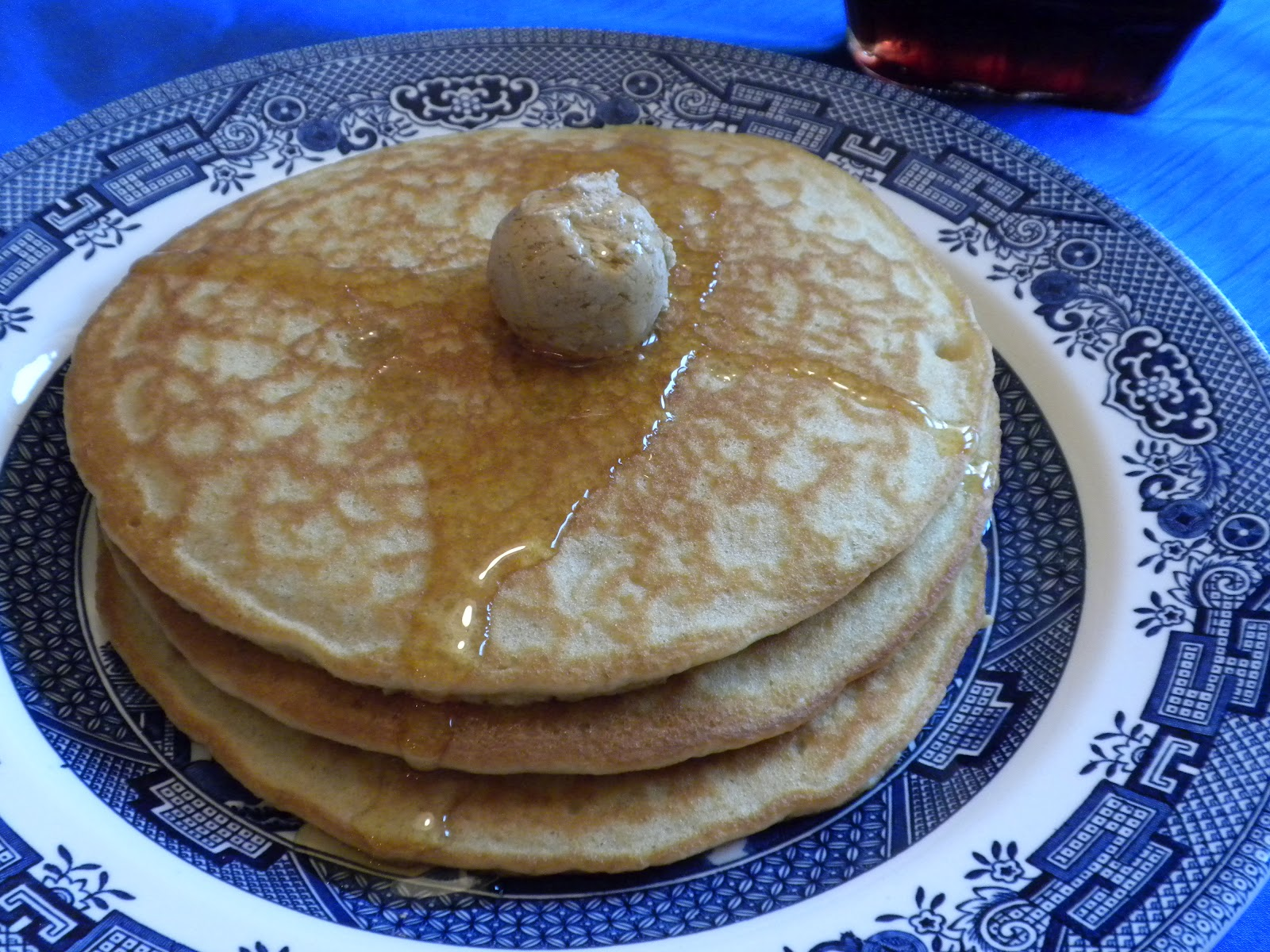 """Substance of Living: Gluten-Free, Dairy-Free """"IHOP"""" Pancakes"""