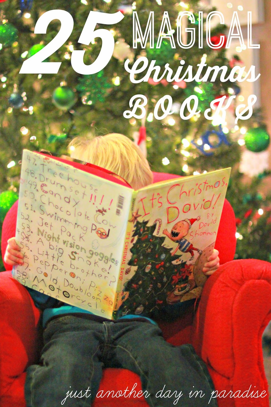 Larissa Another Day 25 Magical Christmas Books