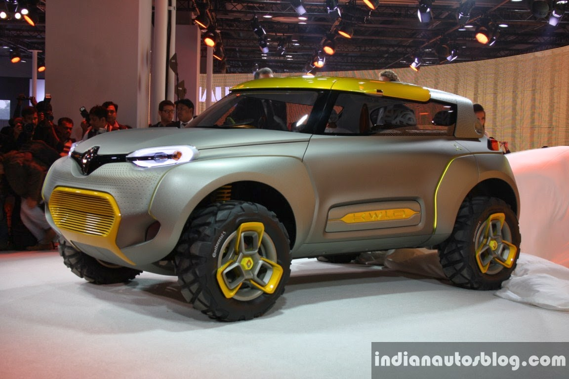 Green energy holding renault kwid concept unveiled at new for Concept expo