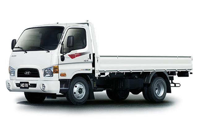 xe tải hyundai hd78 thùng lửng