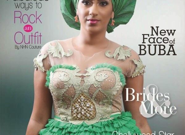 Juliet Ibrahim Covers Editarnish Magazine's March 2015 Issue