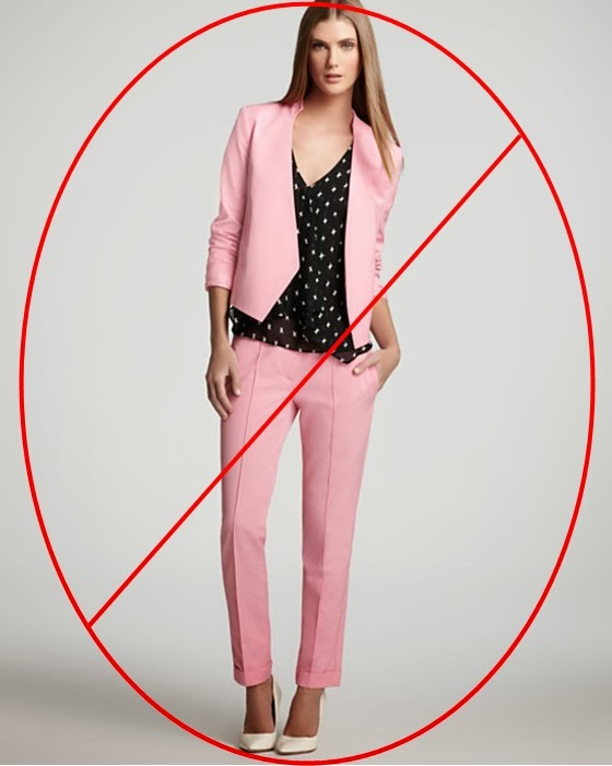 Meg-made Creations: What Not to Wear to a Job Interview