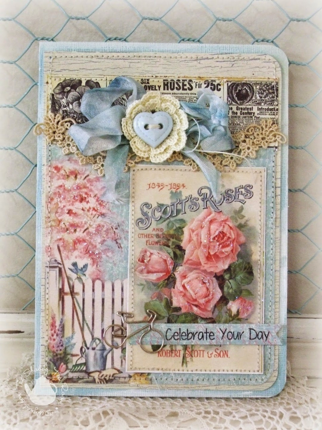 Garden digital stamp download by crafty secrets from crafty secrets - Crafty Secrets Heartwarming Vintage Ideas And Tips New