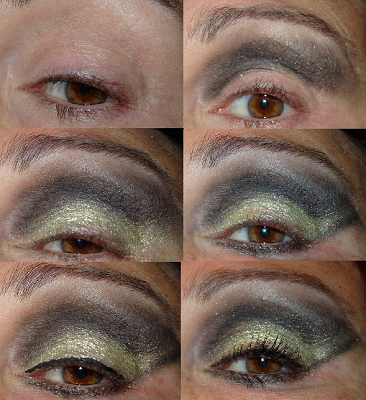 Maquillaje de Fiesta Dorado paso a paso