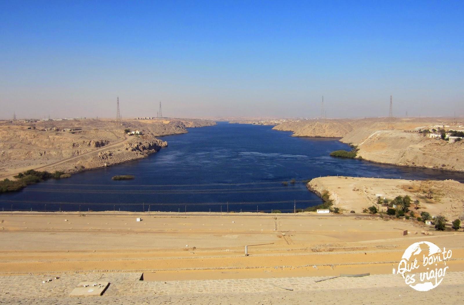 Abu Simbel presa de Aswan