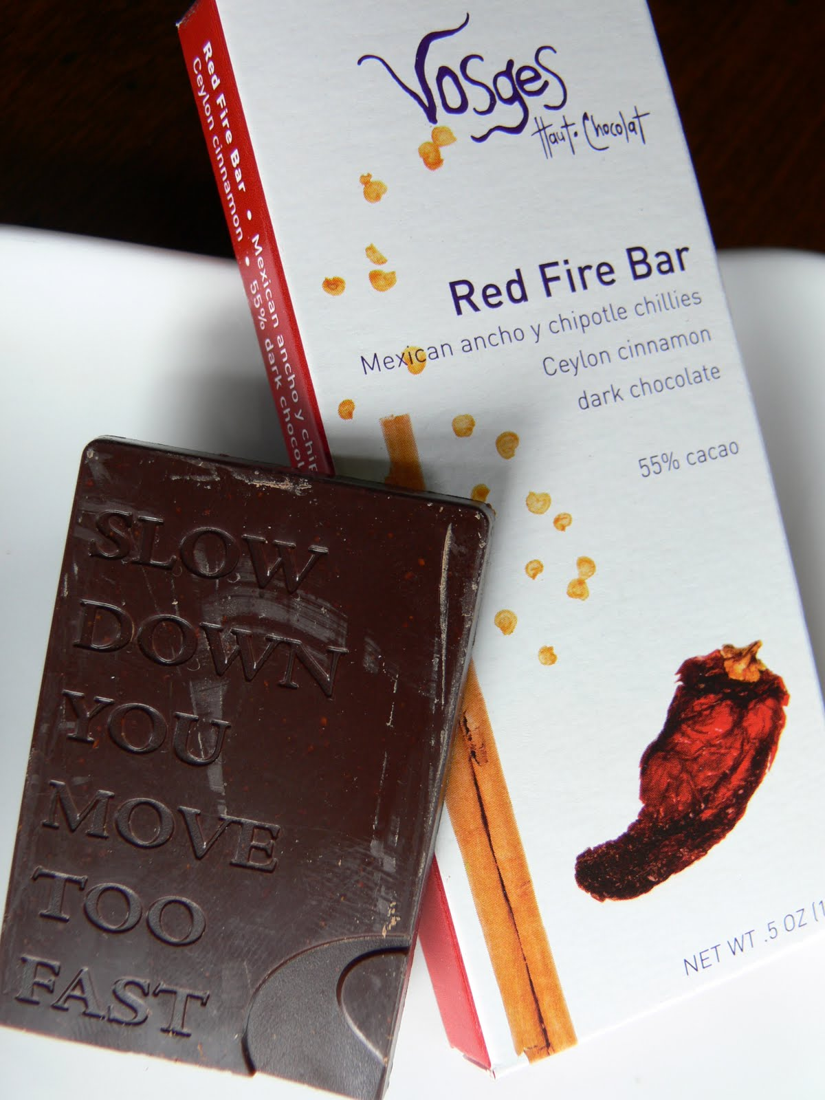The Ultimate Chocolate Blog: Fire and Ice - Vosges uses chili and ...