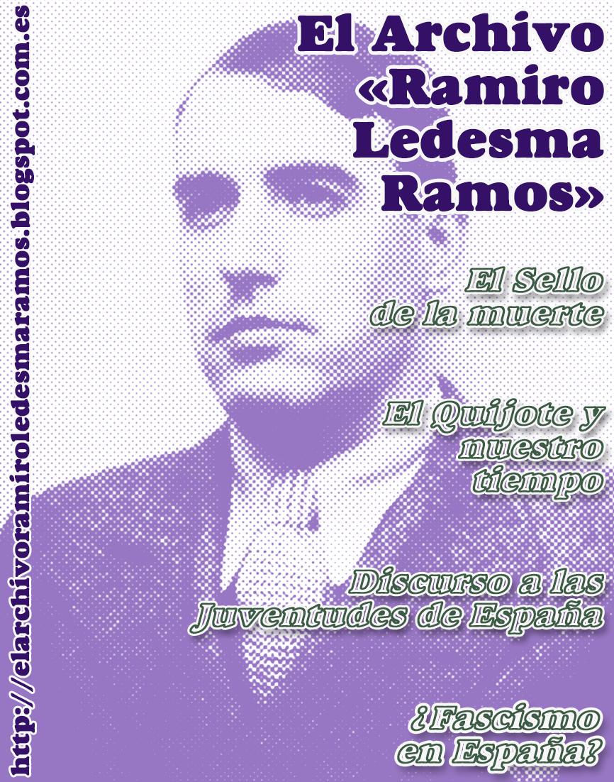 TEXTOS DE RAMIRO LEDESMA RAMOS