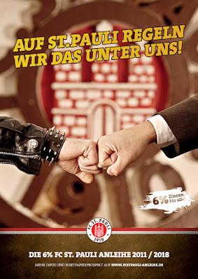 Os fãs do St. Pauli, agora poderão ajudar na reforma do estádio.