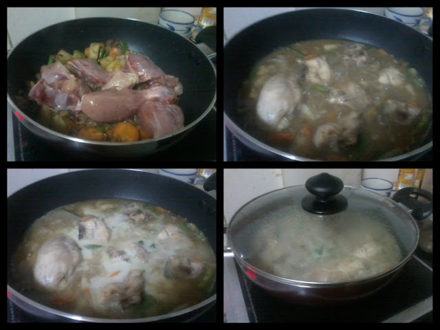 Chicken Stew-Frying