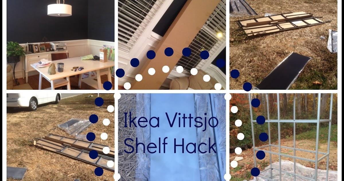 decor you adore ikea hack vittsjo shelf. Black Bedroom Furniture Sets. Home Design Ideas