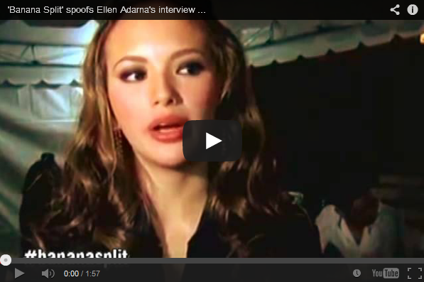 'Banana Split' spoofs Ellen Adarna's interview on Cedric