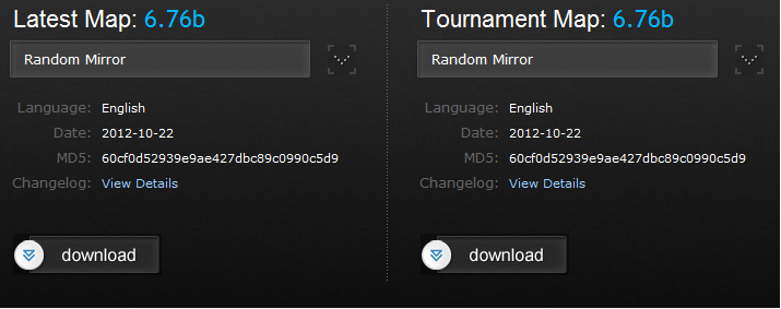 DotA 6.76b is the New Tournament (Stable) Map!