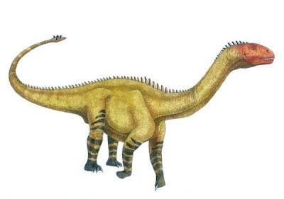Shunosaurus dinosaurios del jurasico