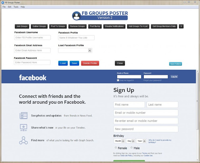 how to make my fb profile frame permanent