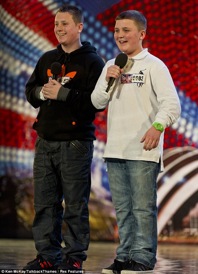 Britain's Got Talent 2011: Teenage rappers The Right Path left in tears after heartfelt tribute to their grandfathers
