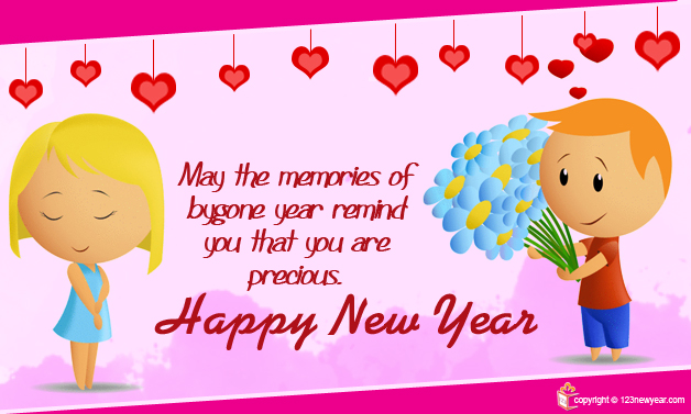 Happy New Year 2015 Friendship Wishes Greeting Cards