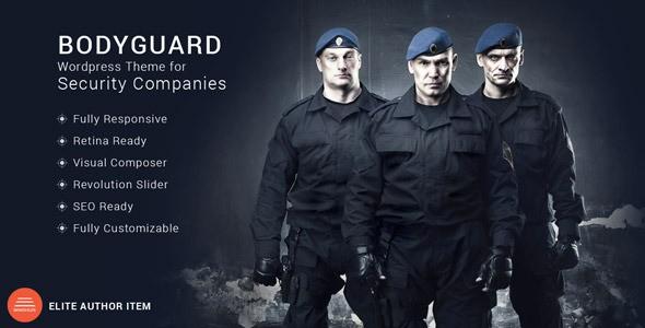 Bodyguard - Security Wordpress Theme