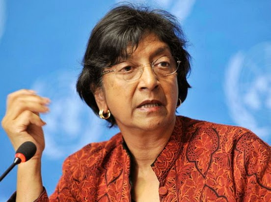 Navi Pillay in nigeria