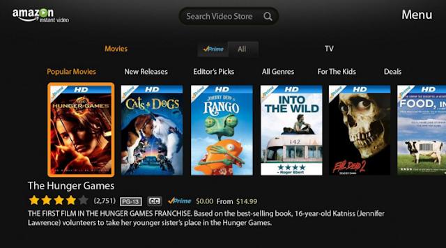 Get Online Movie from Amazon