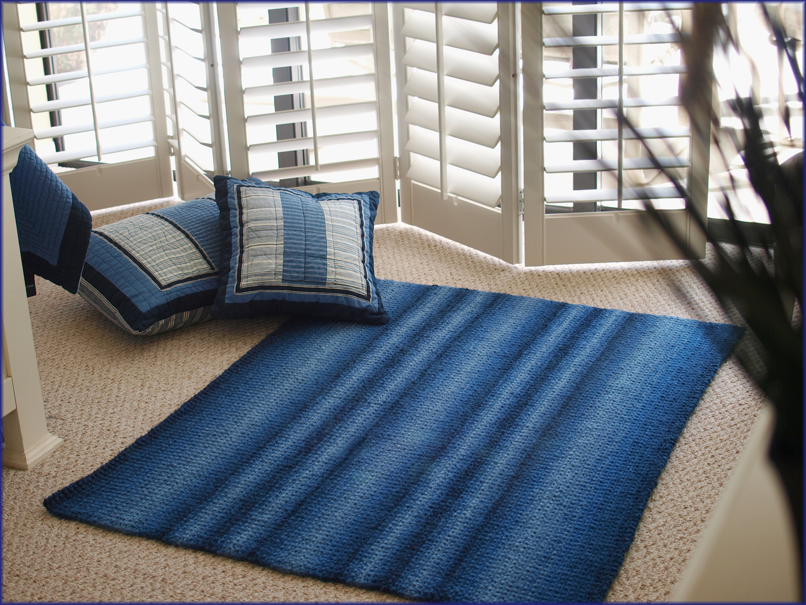 How To Knit A Rug Wyndlestraw Designs The Ocean Currents Rug Knitting Pattern